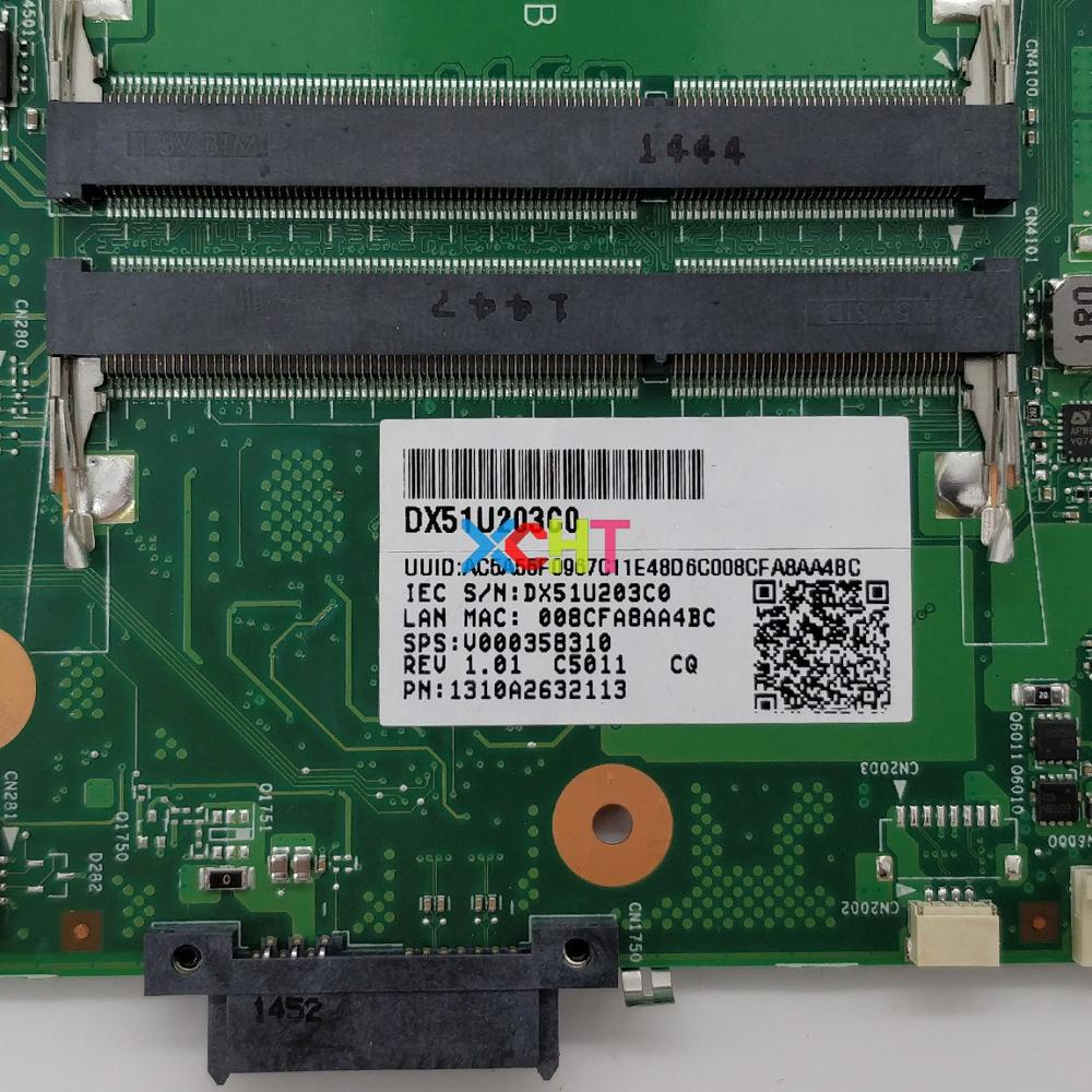 Image 3 - V000358310 w A8 6410 CPU 6050A2632101 MB A01 for Toshiba Satellite C70 C75 C75D B Notebook PC Motherboard Tested-in Laptop Motherboard from Computer & Office