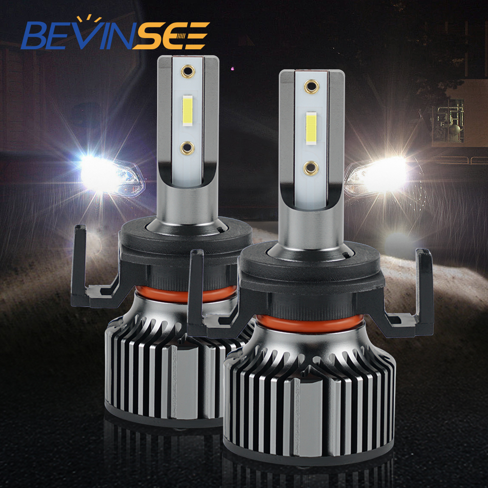 BEVINSEE <font><b>H7</b></font> <font><b>LED</b></font> Headlight Bulbs For CITROEN DS DS5 DS6 <font><b>PEUGEOT</b></font> 508 <font><b>2008</b></font> 3008 C5 0000lm 60W 1860 CSP <font><b>LED</b></font> chips image