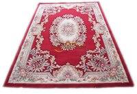 Alfombra decoración casa alfombra de color Camel con alfombra de punto de aguja para dormitorio 510-395 6.56x9. 84