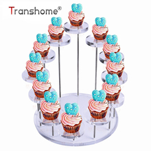 Cupcake-Stand Transparent Dessert-Rack Decoration-Tools Wedding Birthday-Party Jewelry/cake