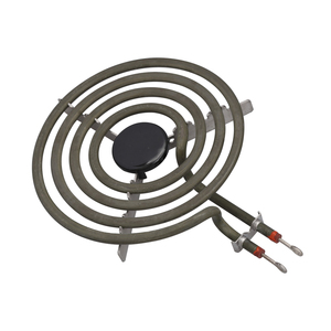 """Image 2 - 1500W 230V 6"""" Range 304 Stainless Cooktop Stove Replacement Surface Burner 4 Rings Pancake Coil Shape Heater Tube with Tripod"""