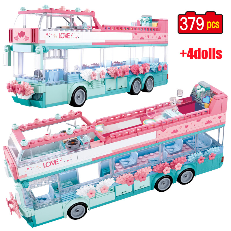 City Wedding Party Romantic Wedding Scene Building Blocks Legoing Girl Friends Car Princess Prince Figures Bricks Toys For Girl