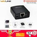 Wavlink Usb 2.0 Lrp Servidor De Impressão Compartilhar Um Lan Ethernet Redes Impressoras Adaptador De Energia Hub Usb 100 Mbps Servidor De Impressão De Rede Eua