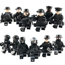 Military Chinese Soldiers Guard Force Building Blocks Bricks Model Children Toys