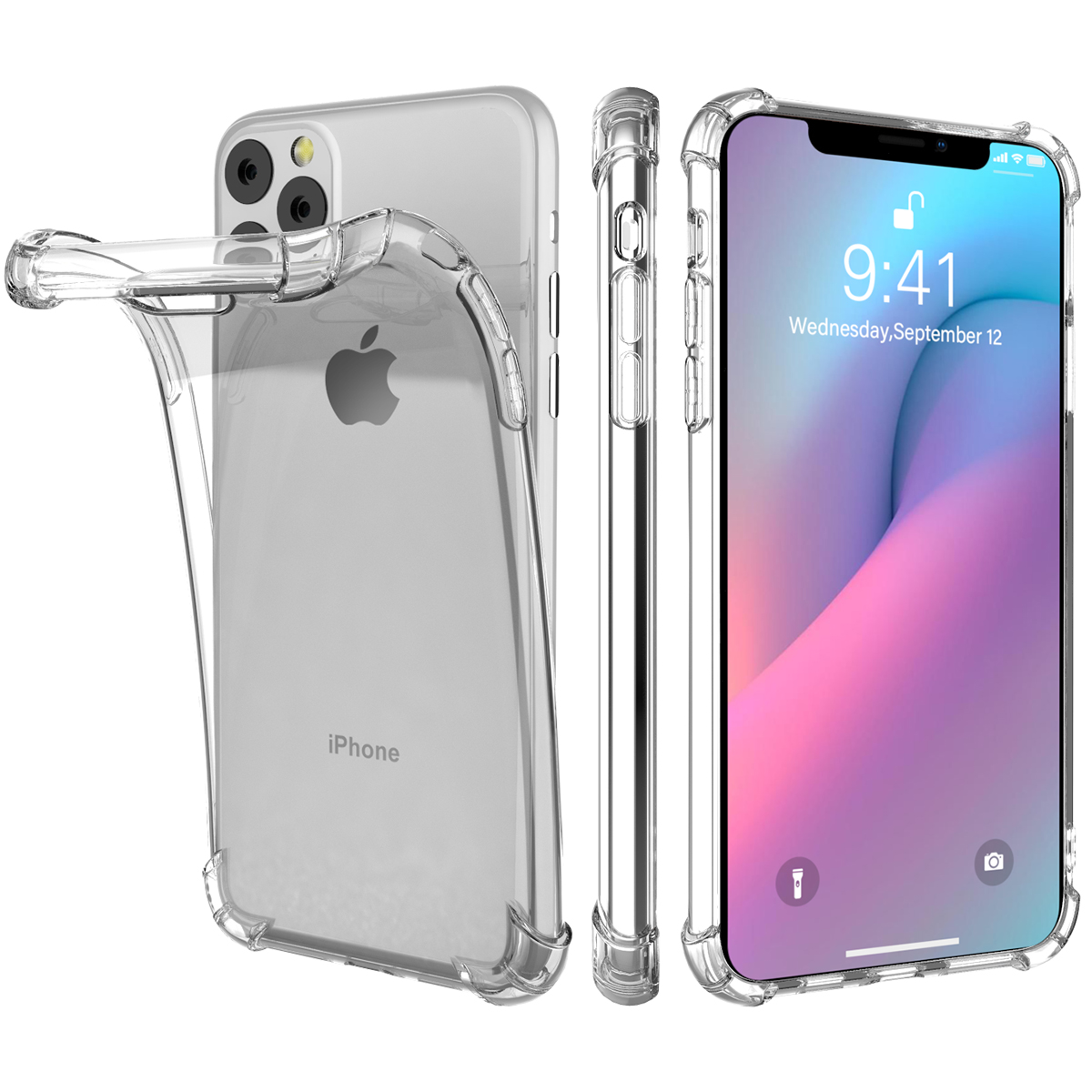 Gradient Soft TPU Case for iPhone 11/11 Pro/11 Pro Max 14