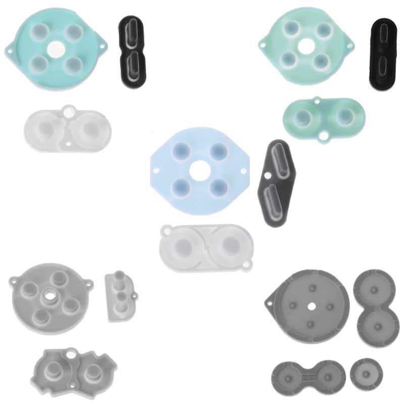 Rubber Conductive Buttons Replacement Controllers Contact Button A-B D-pad for <font><b>Game</b></font> Boy Classic GB GBC GBP GBA SP Silicone Start image