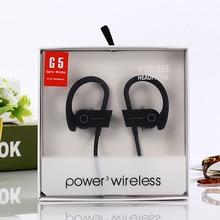 Smart Voice Broadcast Headset Wireless Earphone Bluetooth 4.0 4.1 Headphones Sports Earphones