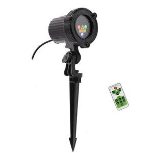 Image 2 - Rgb Laser Kerstverlichting Sterren Rood Groen Blauw Douches Projector Tuin Outdoor Waterdichte IP65 Voor Xmas Decoratie Met Afstandsbediening