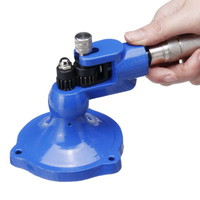 Handheld 13 Knurls Easy Operate Jewelry Making Machine Stone Set Solid Steel Ring Stretcher Adjustment Size Expander Tools