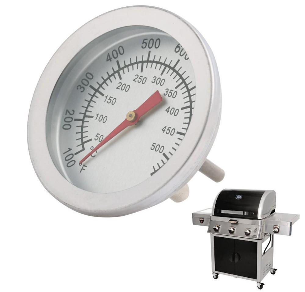 New 50-500 Celsius Stainless Steel Barbecue BBQ Smoker Grill Thermometer Temperature Gauge Outdoor Camp Tool