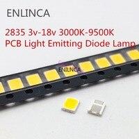 Cuentas de luz LED SMD 2835, 5730 Chips, 1W, 3V, 6V, 9V, 18V, Blanco cálido, 0,5 W, 1W, 130LM, lámpara de diodo emisor, gran oferta