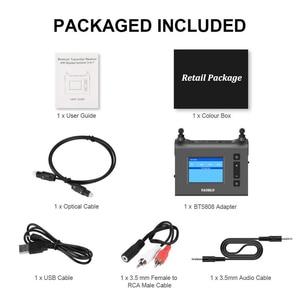 Image 5 - 70M uzun menzilli Bluetooth ses alıcısı verici TV anten ile Aptx HD düşük gecikme Spdif optik AUX kablosuz adaptörü