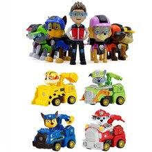 Conjunto de brinquedos da patrulha canina, brinquedo patrulha canina, rastreador everest, cão, figura de ação, psi patrulha canina, presente