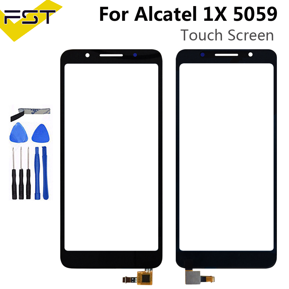 5.3''For Alcatel 1X 5059D 5059 Touch Screen Digitizer Glass Sensor Panel Lens For 5059D Replacement Parts+Tools