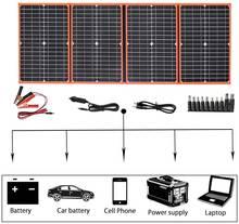 Xinpuguang солнечная панель походная Портативная Складная фотоэлектрическая