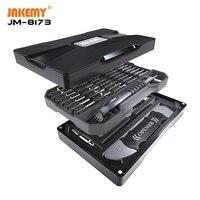 JAKEMY 69 en 1 Juego de destornillador magnético de precisión Spudger herramientas de apertura de teléfono móvil ordenador portátil Reparación de herramientas de mano|Juegos de herramientas manuales| |  -