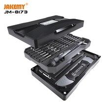 JAKEMY 69 w 1 precyzyjny wkrętak magnetyczny zestaw Spudger podważ narzędzia do otwierania telefonu komórkowego komputera Laptop naprawa narzędzi ręcznych