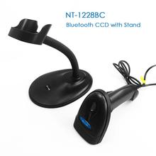 NETUM M3 Wired CCD Barcode Scanner AND Handheld M2 Wireless Bar Code Reader 32Bit High Speed POS Bar Code Scan for inventory