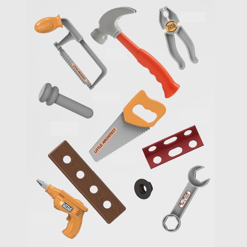 Conjunto de ferramentas para bebês, tecnologia diy,