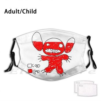 Drawing! Adult Kids Mask Scarf Mask Monster Dog Magic Kingdom Walt Cartoon Movie Characters World World Of Park image