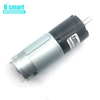 Bringsmart DC Small Reduction Motor PG36 555 High Torque 12v DC Gear Motor Low Speed Planetary Reducer Micro Electric Motor