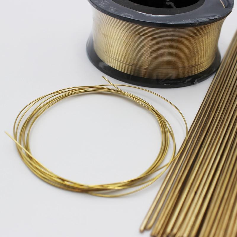 0.8mm X 2m Brass Brazing MIG TIG Welding Wire Rods