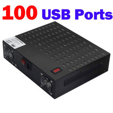 100 Ports USB Power Station,Multi Port USB Wall Charger Dock Adapter 800W USB Charging Station for Hotel School Shopping malls