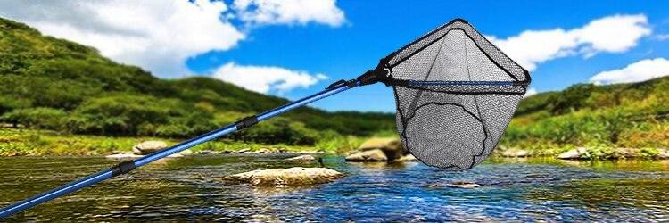 Goture folding pesca landing net 1.02 m
