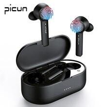 Picun W16 Wireless Earphones TWS True  Stereo Mini Bluetooth 5.1 In Ear Sport HIFI Earbuds Noise Cancel Waterproof Headsets