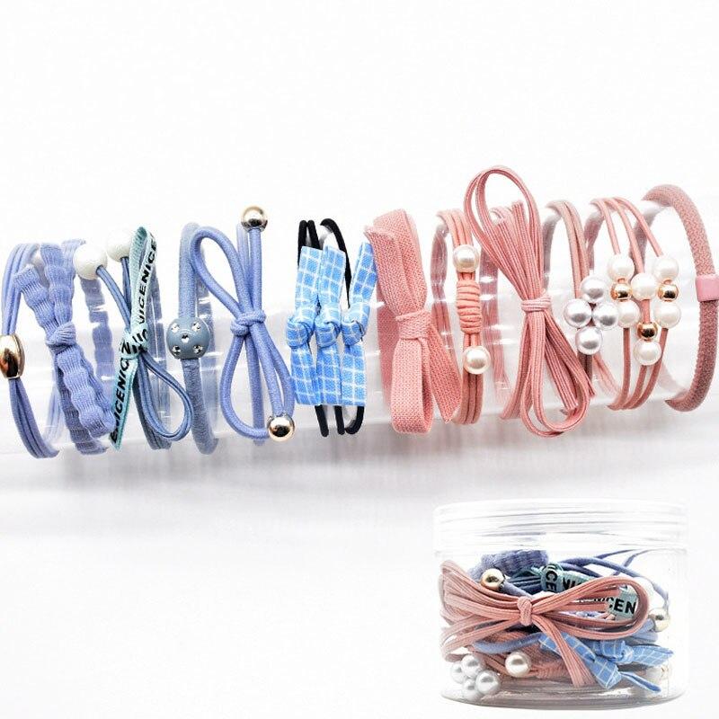 YVLAH 12 шт./компл. новое кольцо для волос цветная Резиновая лента для женщин|Женские аксессуары для волос|   | АлиЭкспресс