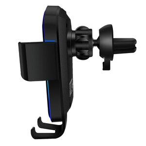 Автомобильный держатель для телефона, подставка для телефона в автомобиль, устойчивый Фиксированный кронштейн, поддержка гравитационного датчика, автоматический захват, Беспроводная зарядка