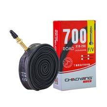 Válvula de pneu de bicicleta, válvula interna francesa padrão durável para pneu de bicicleta de estrada, borracha butil 700c 18c 23c 25c 32c fv 80l pneu/60l/48l/33l