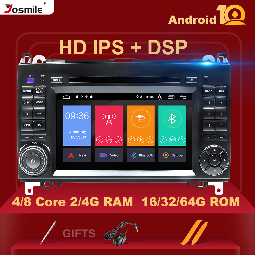 4GB 2 din Car <font><b>Radio</b></font> GPS Stereo for <font><b>Mercedes</b></font> Sprinter W906 <font><b>Benz</b></font> B200 A B Class <font><b>W169</b></font> W245 Viano VitoW639 Multimeida Navigation DSP image