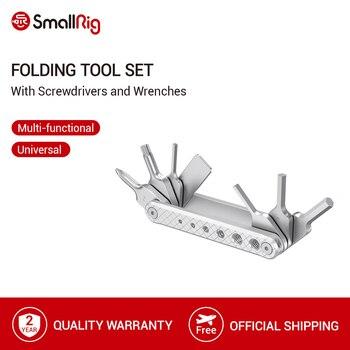 SmallRig-Juego de Herramientas plegables con Destornilladores, llaves Allen, destornillador ranurado y herramientas...