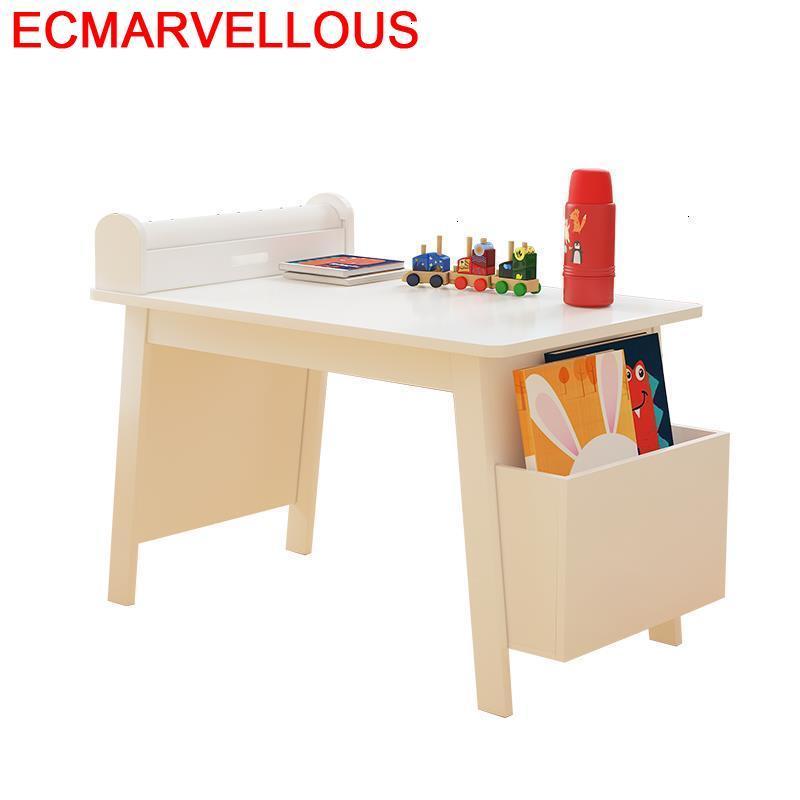 Desk Silla Y Infantiles Tavolino Scrivania Bambini Pour For Kids Kindergarten Kinder Study Mesa Infantil Enfant Children Table