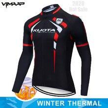 Kuota inverno velo térmico ciclismo jérsei 2020 corrida de bicicleta ciclismo mountian roupas ropa ciclismo