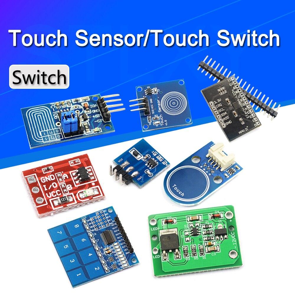 5/2/1 шт., сенсорные модули TTP223 TTP224 TTP226