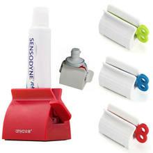 Plastikowy wyciskacz do tubek z pastą do zębów łatwy dozownik uchwyt do toczenia akcesoria do łazienki wyciskacze do zębów