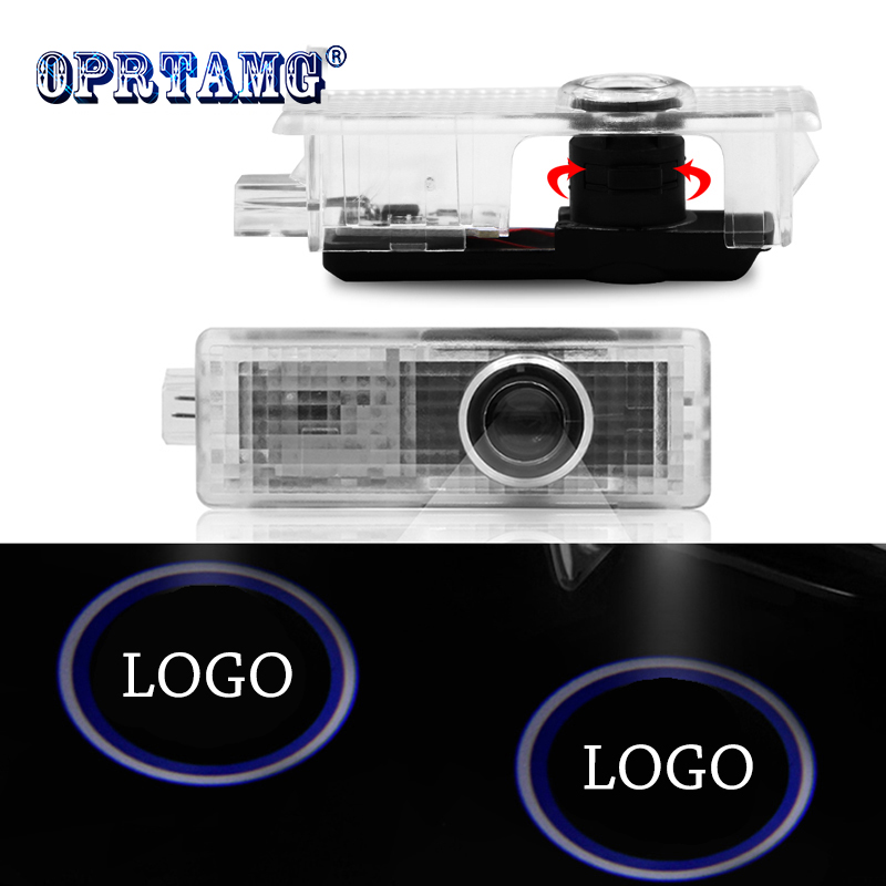 2PCS For <font><b>BMW</b></font> 12V 5W Car Door <font><b>Led</b></font> Welcome Laser Projector Logo Ghost Shadow Light welcome light For <font><b>BMW</b></font> e90,e46,f11,e61,e60,f31 image