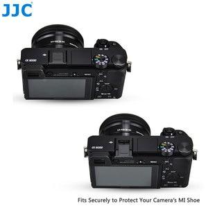 Image 4 - JJC Камера Горячий башмак Обложка черный, белый цвет протектор Кепки для Sony A77II A3000 A6000 A6300 A6500 A99 II A7 заменить Sony FA SHC1M