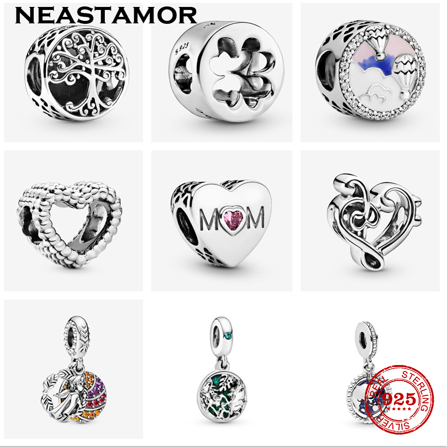 2020 Spring S New Round Silver Colour Family Is Where Love Grows Charm Fit Original Pandora Bracelets Women Diy Jewelry Beads Aliexpress