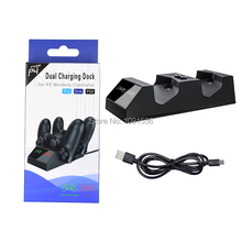 Dual Micro Magnetic USB Charging for Sony Playstation 4 / PS4 Pro Holder Dock Station Charger Cable Gamepad Joypad Controller
