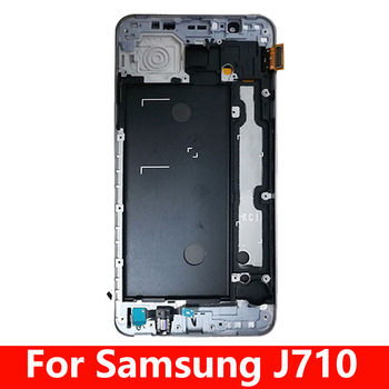5.5 LCD For Samsung Galaxy J7 2016 J710 SM-J710F J710M J710H J710FN LCD Display Touch Screen Digitizer Assembly With Frame image