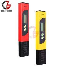 High Accuracy 0.01 Protable LCD Digital PH Meter Tester Analyzer Pen for Water Food Aquarium Pool Hydroponics Soil PH Monitor