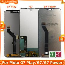 Display For Motorola Moto G7 Play XT1952 G7 XT1962 G7 Power LCD Touch Screen sensor Panel Digiziter assembly Replacement