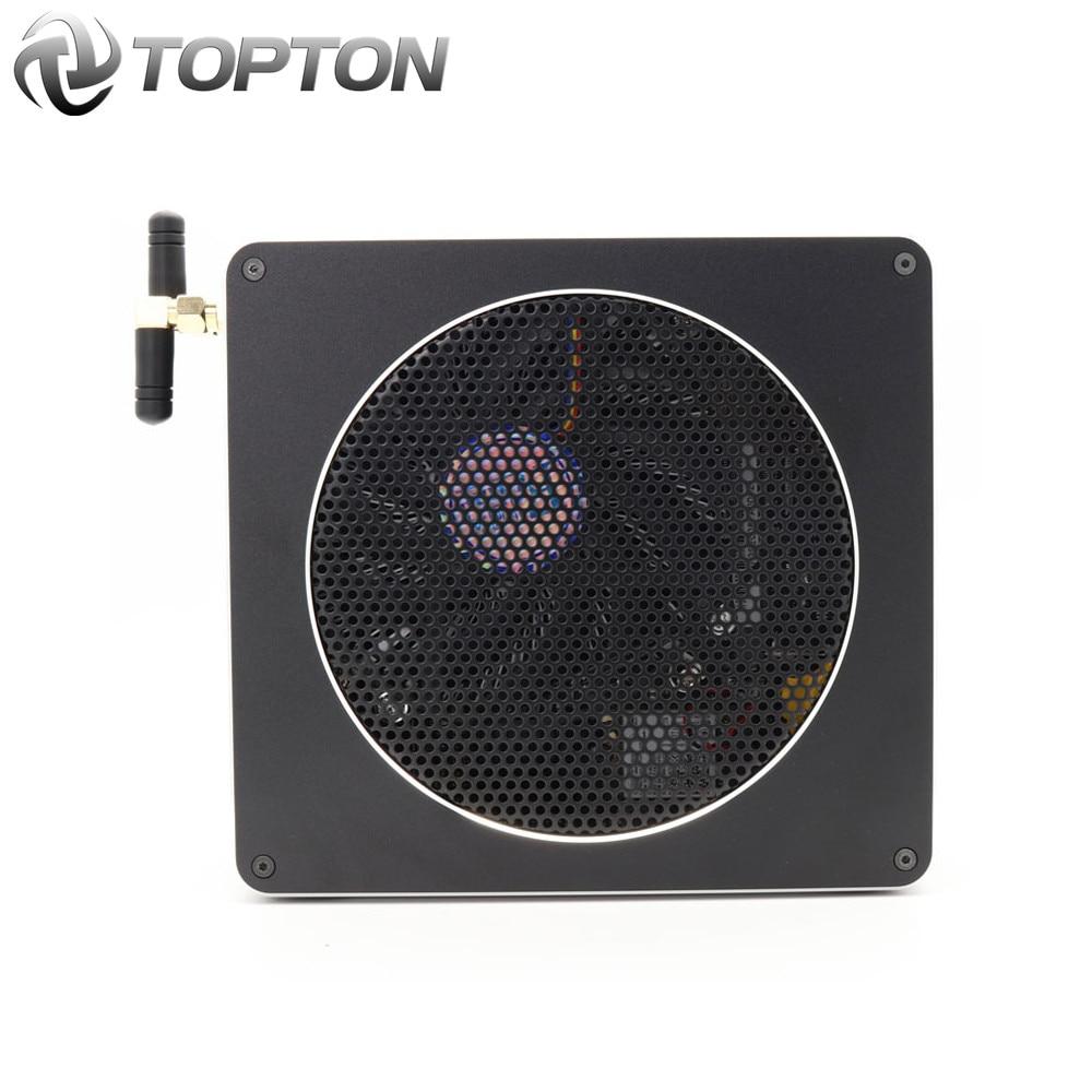 Mini PC Intel Xeon E3 1505M v5 4 Core 8 Threads 2.80 GHz Server Barebone Computer Win10 Pro 16GB