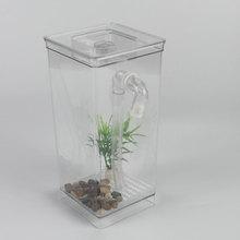 Desktop Home Decor Fish Tank Ecological Aquarium Aquatic Pet Supplies Grass Goldfish Tank Self-cleaning Mini Fun Kit