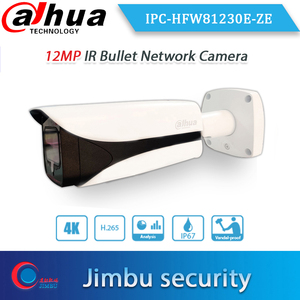Image 1 - Dahua 원래 IPC HFW81230E ZE 4K 12mp 동력 렌즈 dahua 로고를 가진 4.1mm ~ 16.4mm IR 50m 탄알 옥외 PoE + IP 사진기