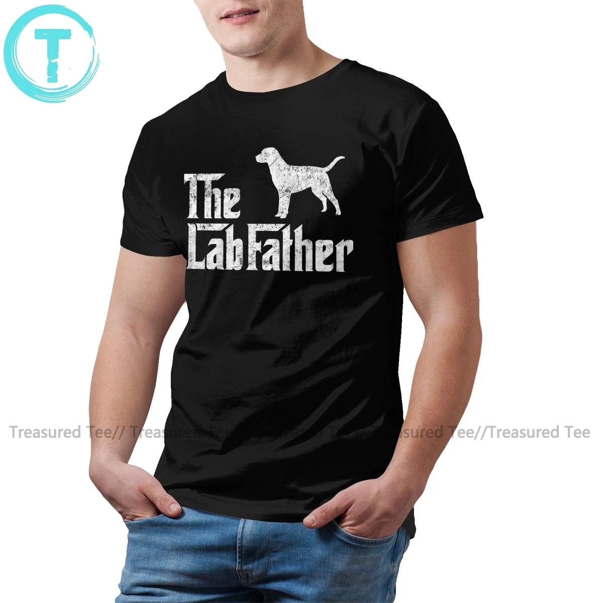 Labrador Shirt Labrador Long Sleeve Shirt Mens Graphic Tee Shirt Labrador Retriever Dad T-shirt-Dog Graphic T-shirt Rescue Dad T-shirt