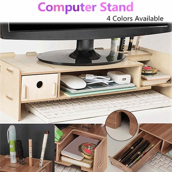 Business Office Furniture Laptop Desk Laptop Wooden Stand